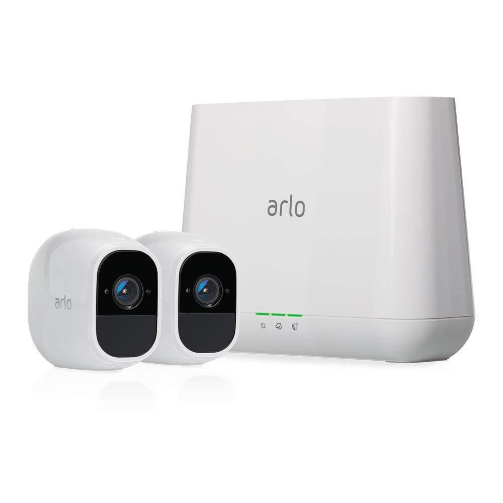 Arlo - Pro 3 2-Camera Indoor/Outdoor Wire-Free 2K HDR Security Camera System