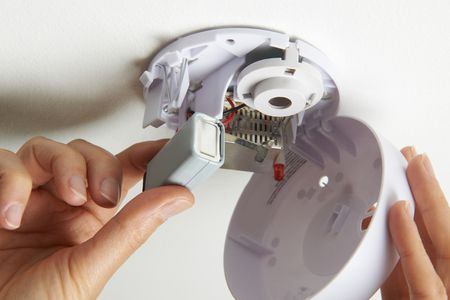 Basics Of Replacing A Smoke Detector Battery