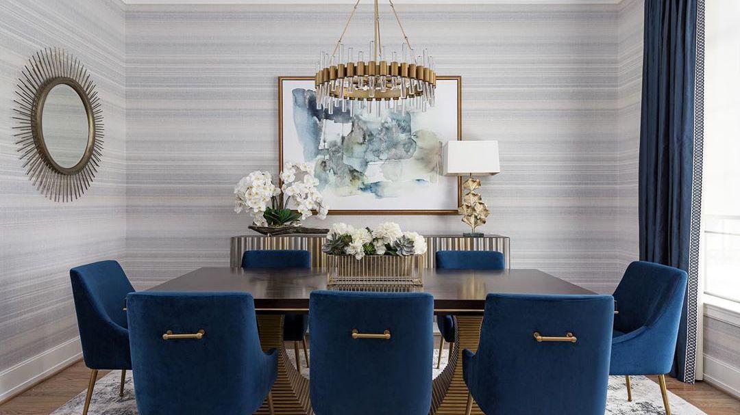 18 Gray Dining Room Design Ideas, Light Gray Paint Colors Dining Room