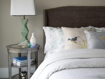 Funky bedside lamp
