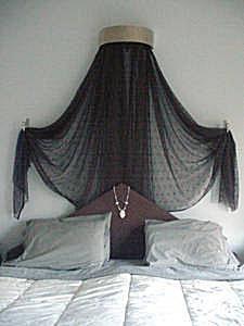 Draped Coronet Bed