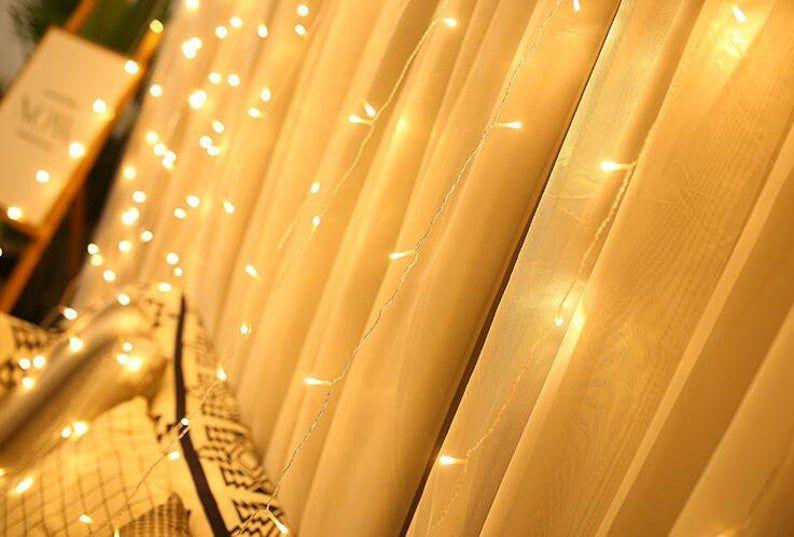 Window Curtain Lights