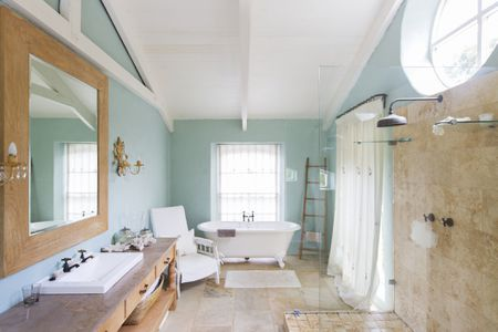 Is Bathroom Paint Worth the Extra Price? on painting cabinets white bathroom, a painting in a mobile home bathroom, refurbish bathroom, remove bathroom, taupe bathroom, paint bathroom, size bathroom, painting wood cabinets bathroom, redecorate bathroom, diy bathroom, add a bathroom, disabled bathroom, prepare for painting bathroom, update bathroom, cabinets stain colors for bathroom,