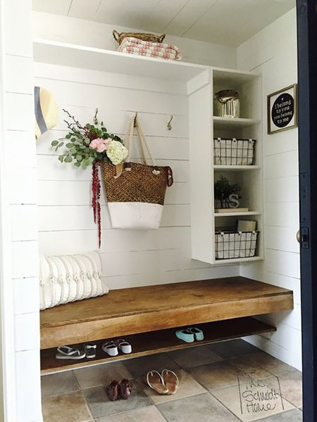 Amazing 15 Creative Mudroom Storage Ideas Download Free Architecture Designs Scobabritishbridgeorg