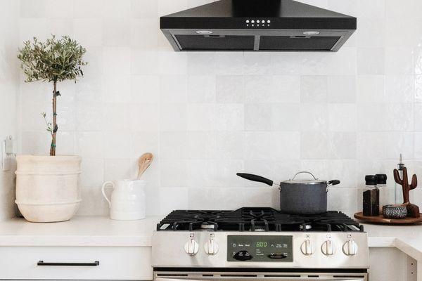 neat, organized kitchen