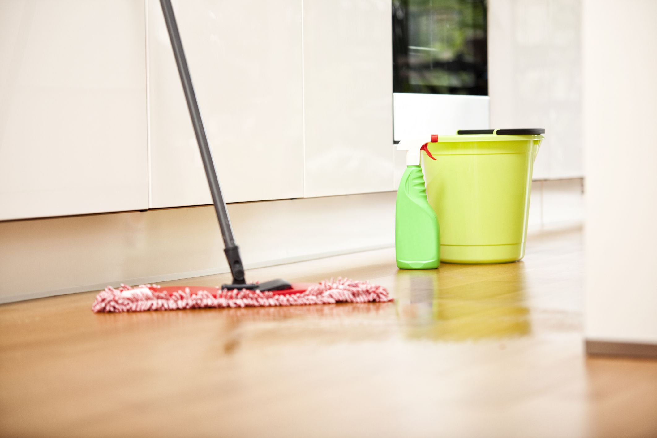 Floor Mopping Mop And Cleaning Products