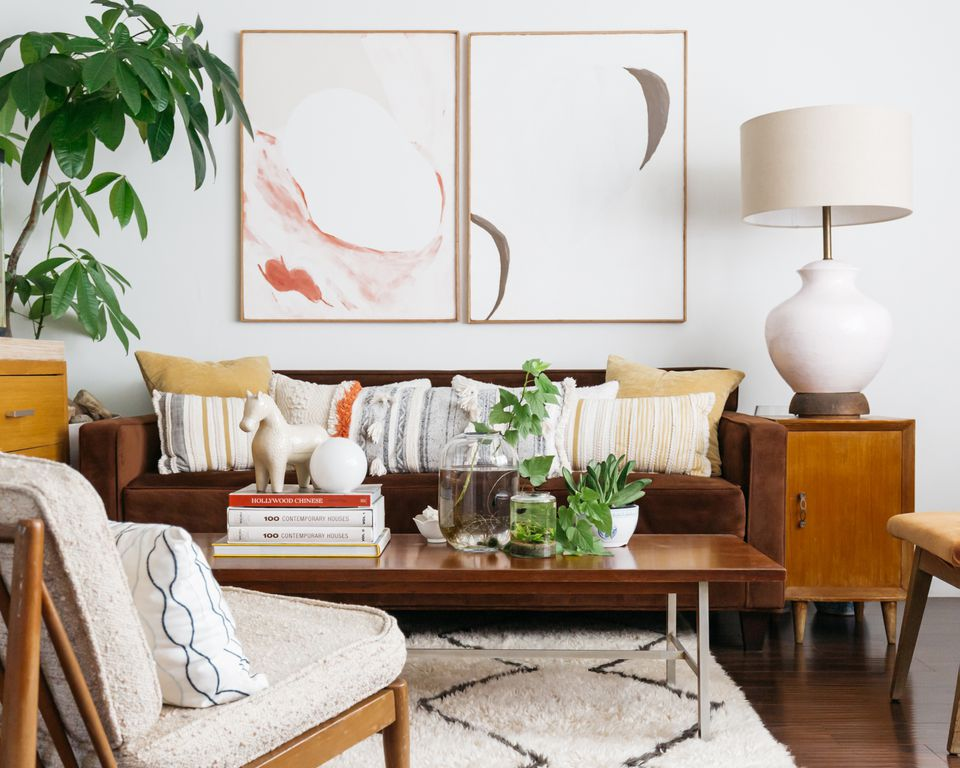 sofa placement in a living room