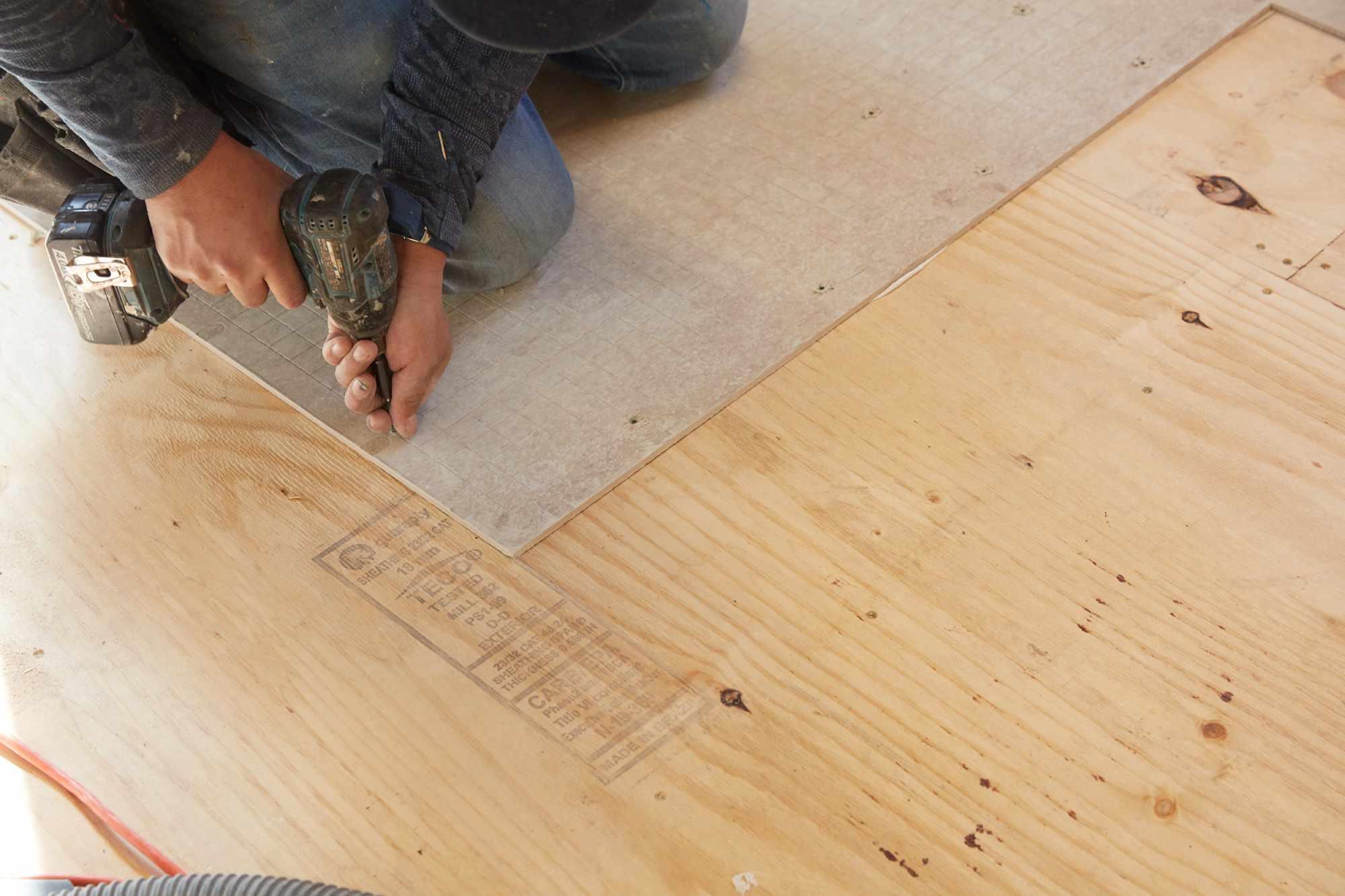 Add Cement Board