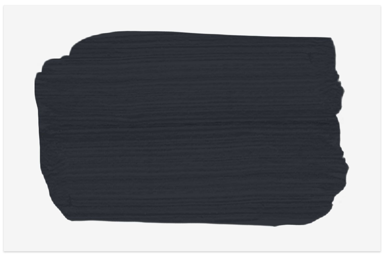 Magnolia Home paint swatch in Blackboard