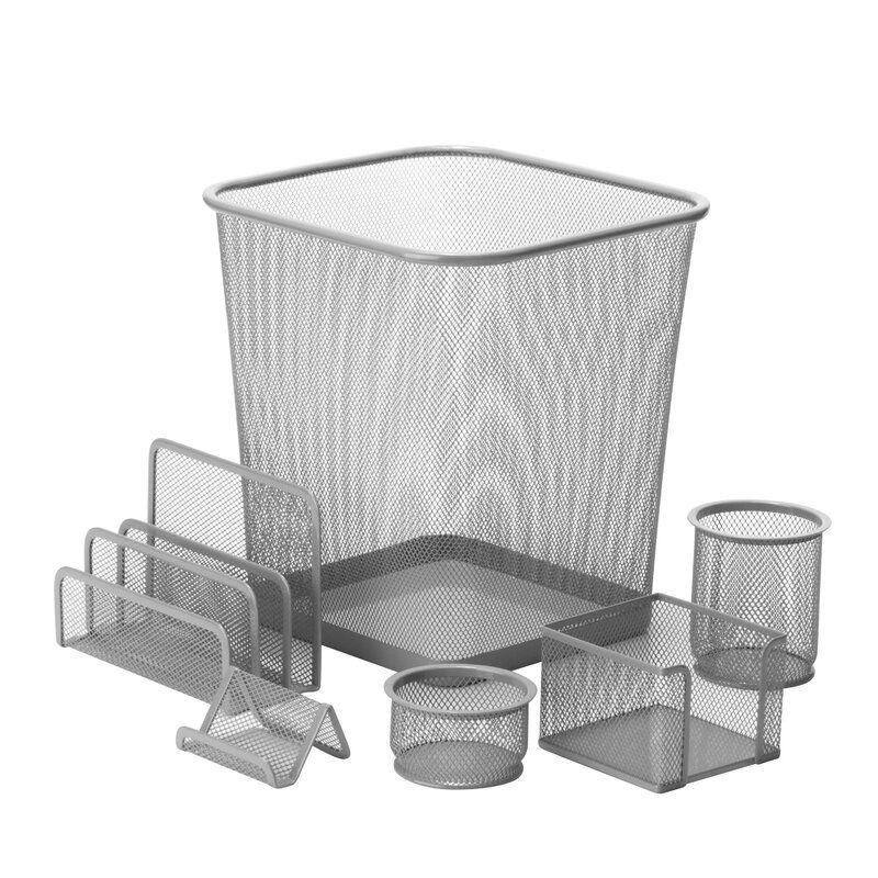 Wayfair Basics® 6 Piece Desk Organizer Set