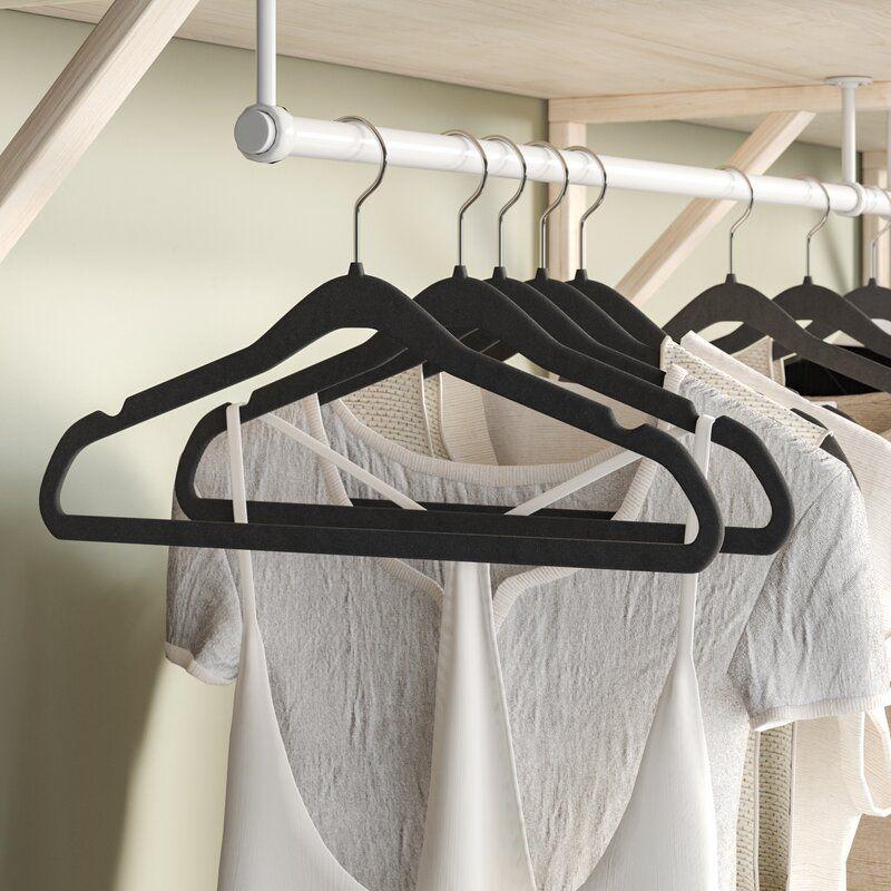 Rebrilliant Black Velvet Hangers