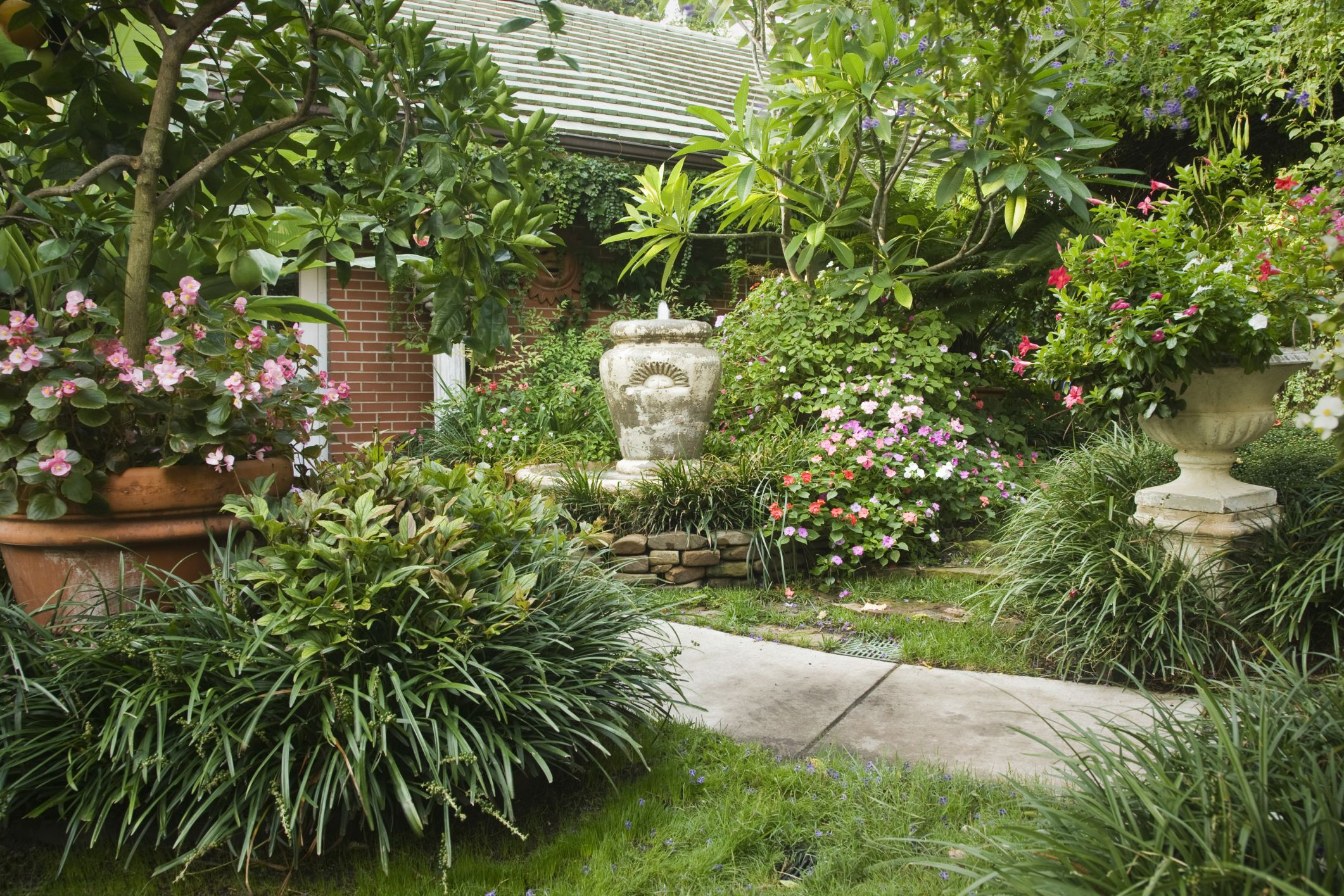 Large Container Garden
