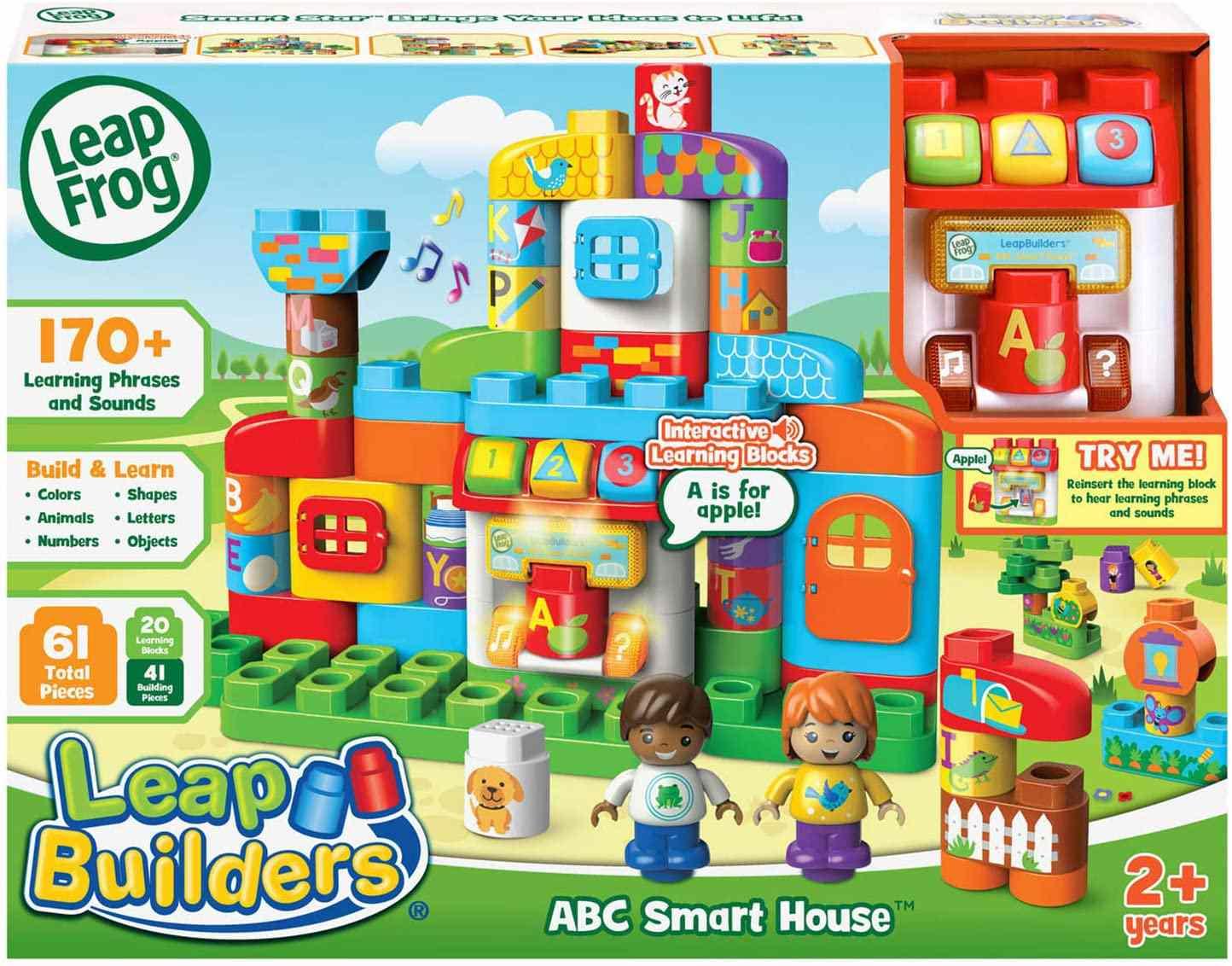 LeapFrog LeapBuilders ABC Smart House