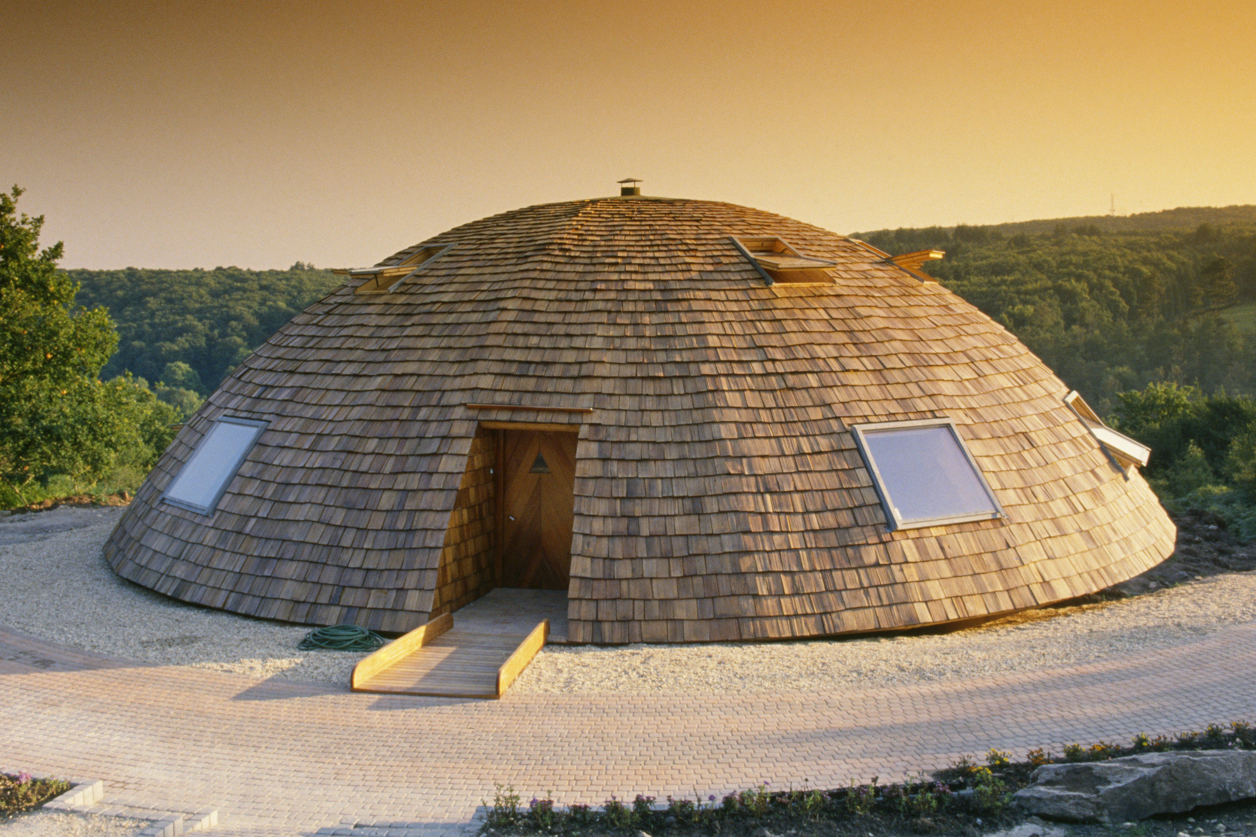 Casa con cúpula