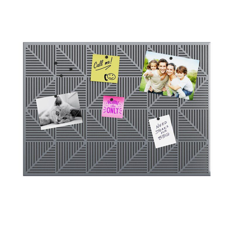 Trigon Magnetic Wall Mounted Magnetic Board