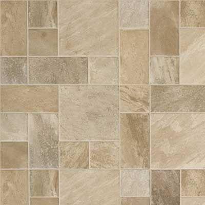 Cobblestone Style Laminate Tile Flooring