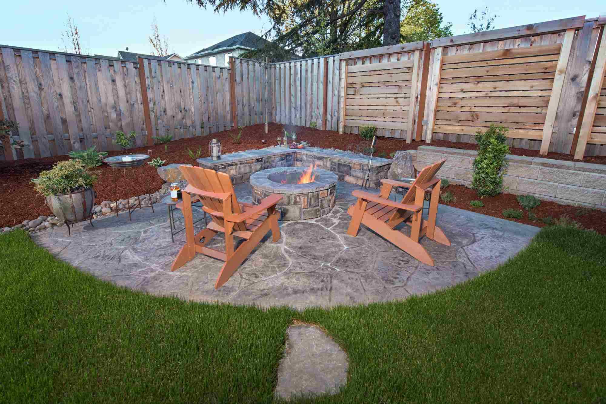 pavimentación de patio