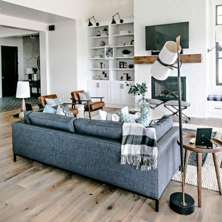 Budget Friendly Modern Farmhouse Family: Essential Tips For Living Room Decor