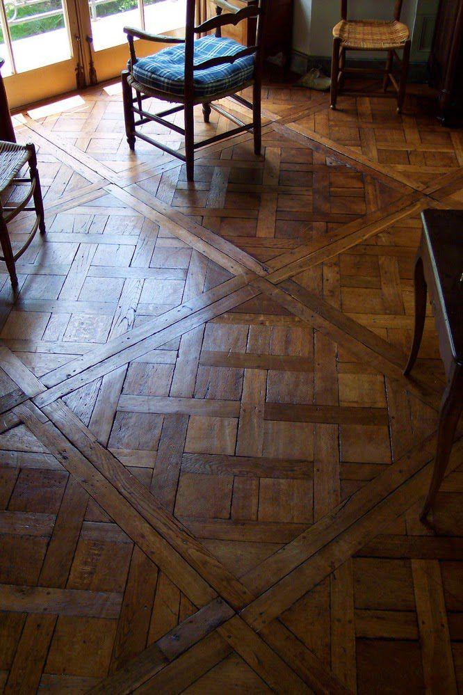 patterned wood floors