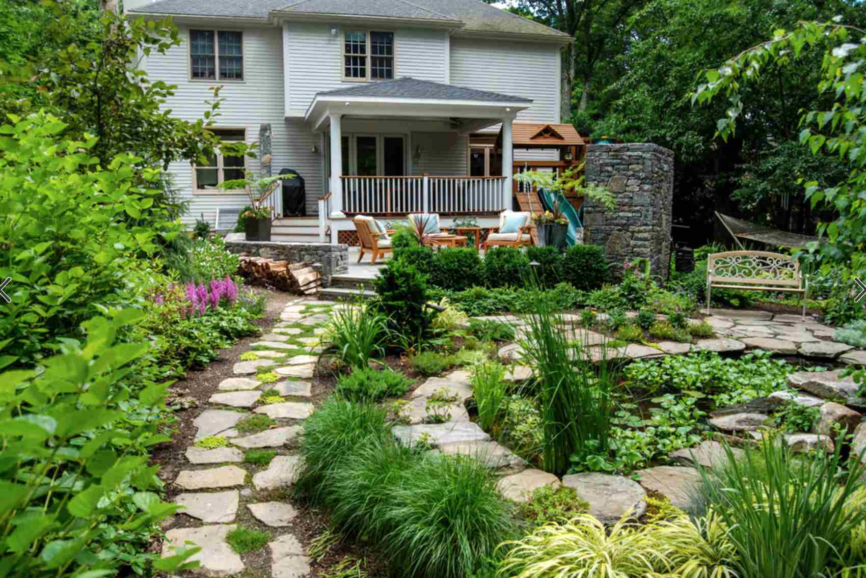 49 Backyard Landscaping Ideas to Inspire You on Backyard Landscaping Ideas No Grass id=30713
