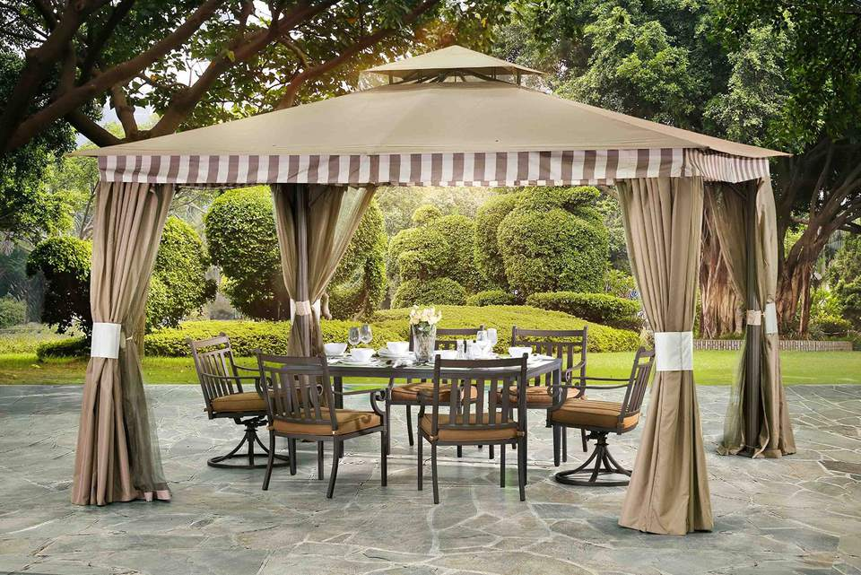 The Best Rated Garden Gazebos And Kits