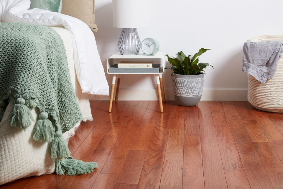 Bedroom hardwood floor