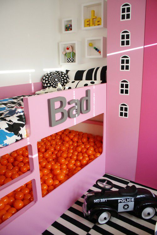 IKEA KURA Hack: Ball Pit Bunkbed