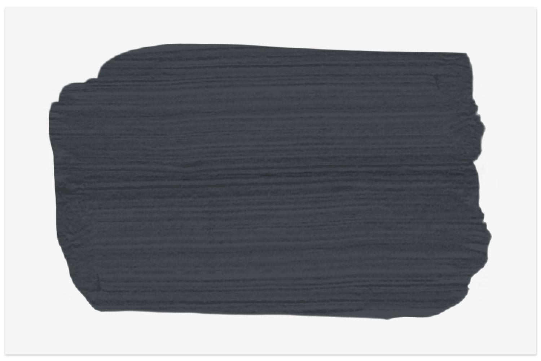 Baby Seal Black paint swatch from Benjamin Moore