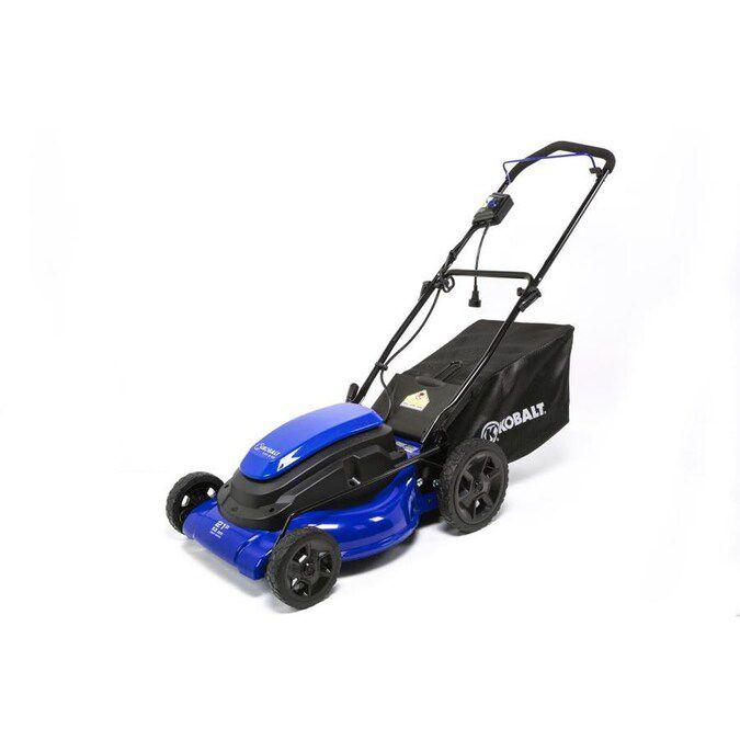 Kobalt 21-in Corded Electric Lawn Mower