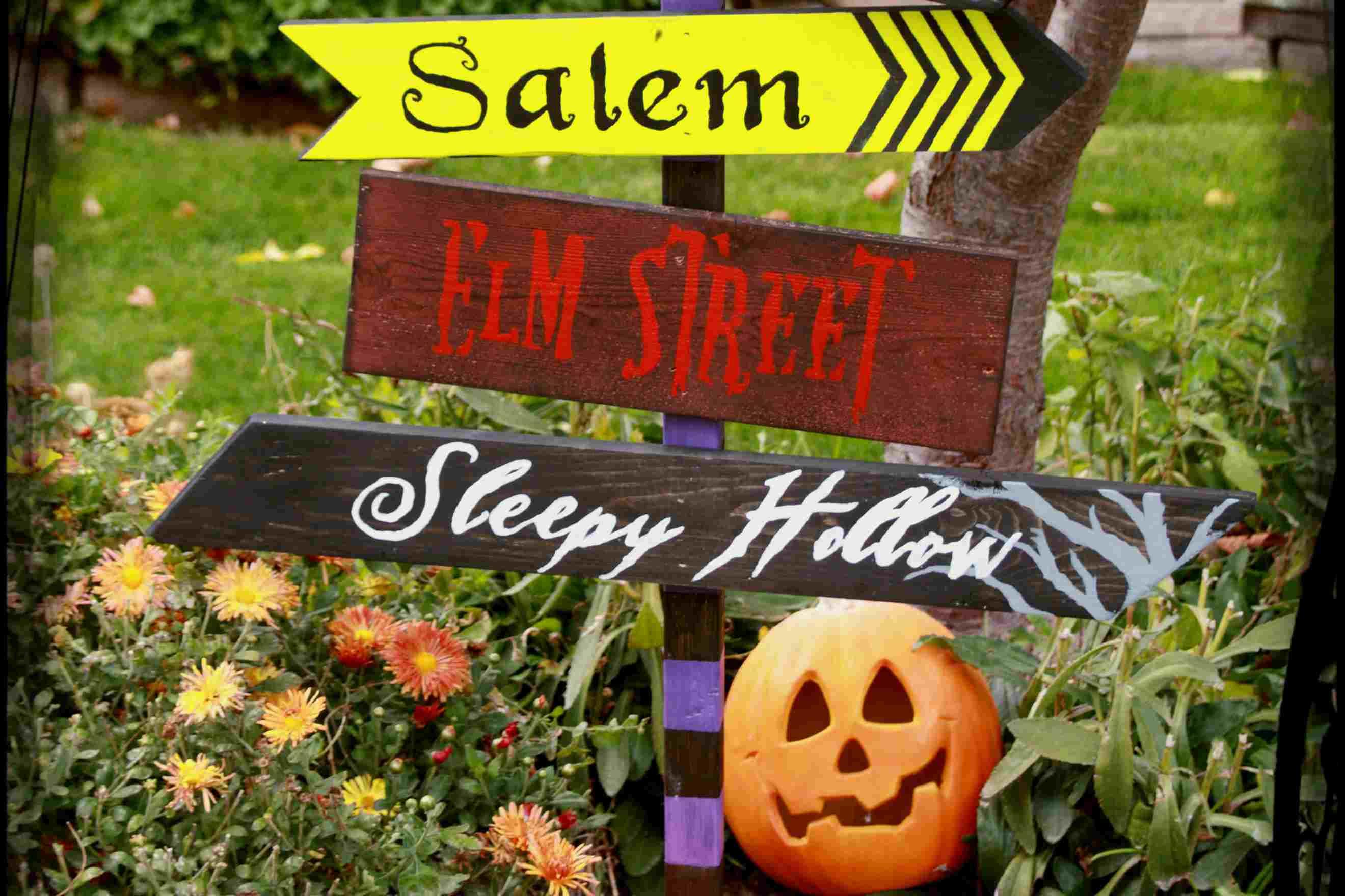 26 Spooky Outdoor Halloween Decoration Ideas