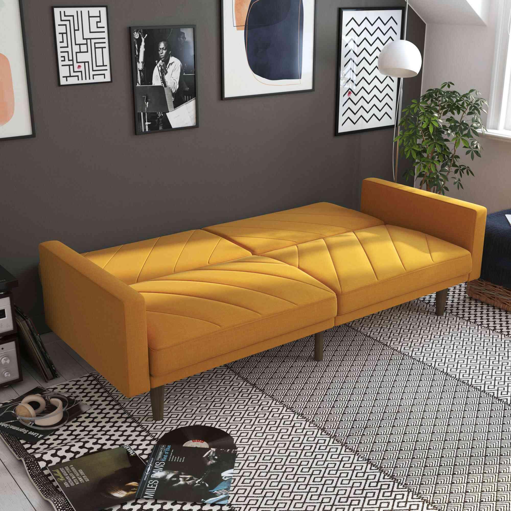Mistana Adria Wide Split Back Convertible Sofa