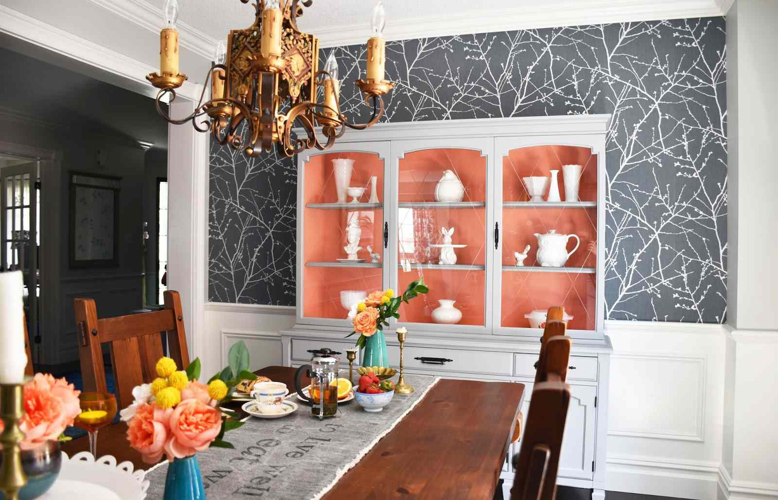 formal dining room modern paint colors