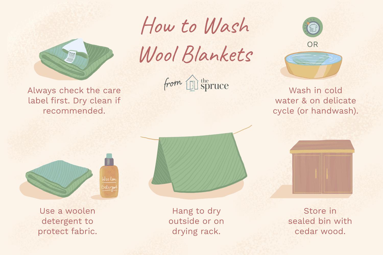 how to wash woolen blankets. Black Bedroom Furniture Sets. Home Design Ideas