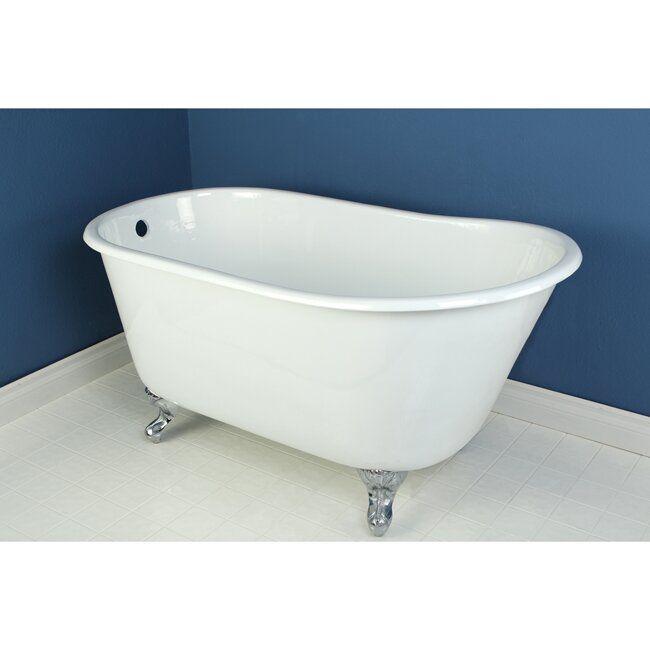 Kingston Brass Aqua Eden 53-inch Clawfoot Tub