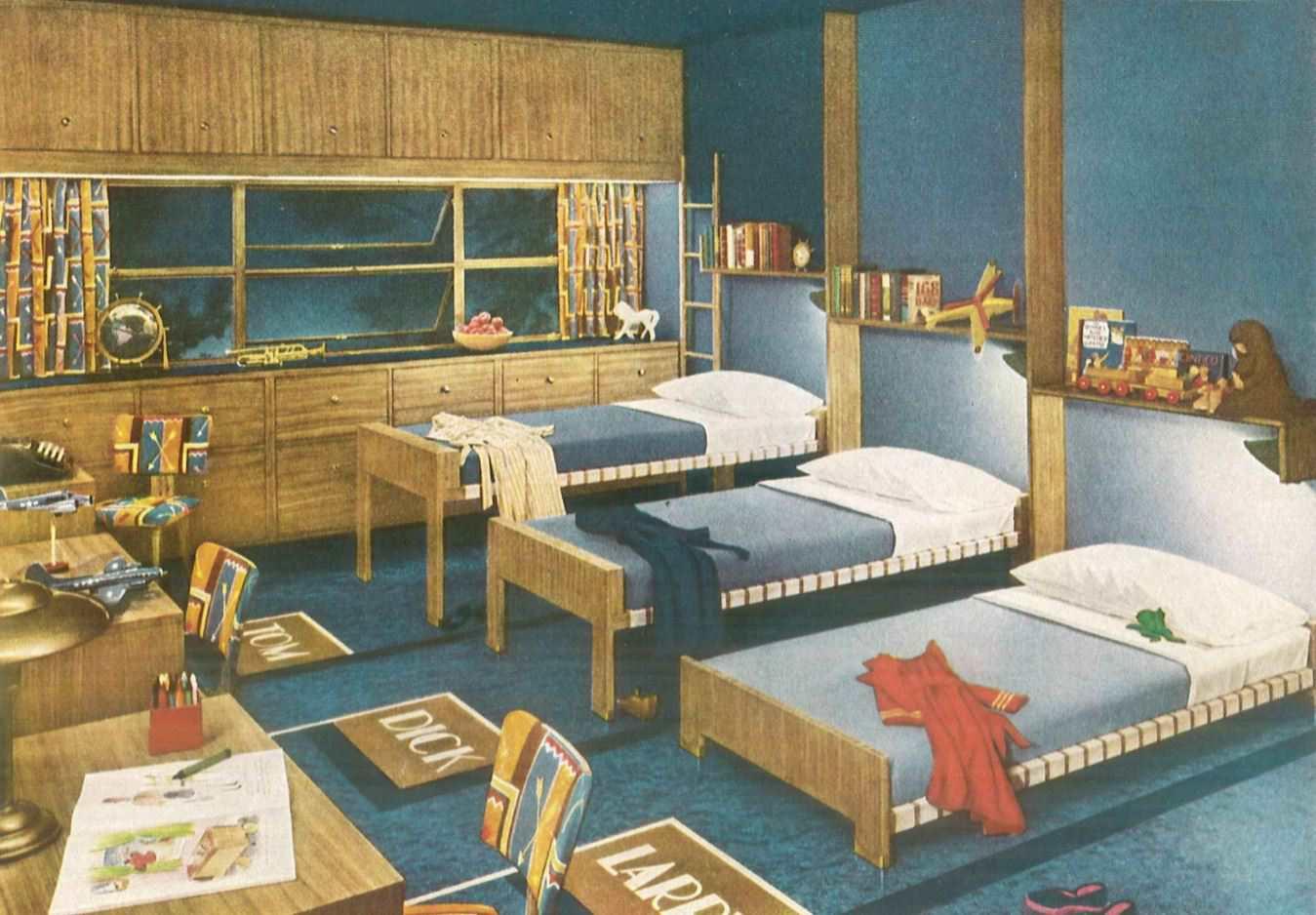 1940s Interior Home Design