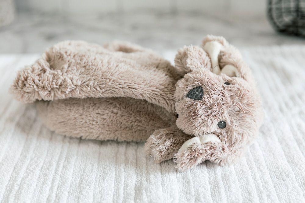 air drying a stuffed animal