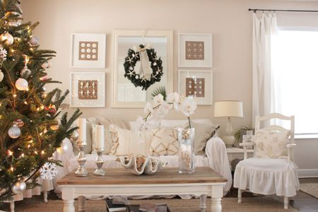 coastal christmas - Beach Christmas Decorating Ideas