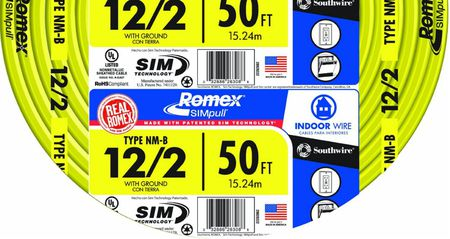 What Is Romex or NM Electrical Cable? Mixed Wiring Labels on bracket labels, frame labels, wire identification labels, safety labels, printed labels, fancy labels,