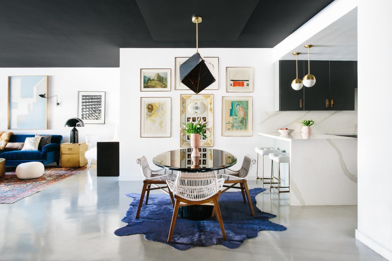 paint it black ceiling