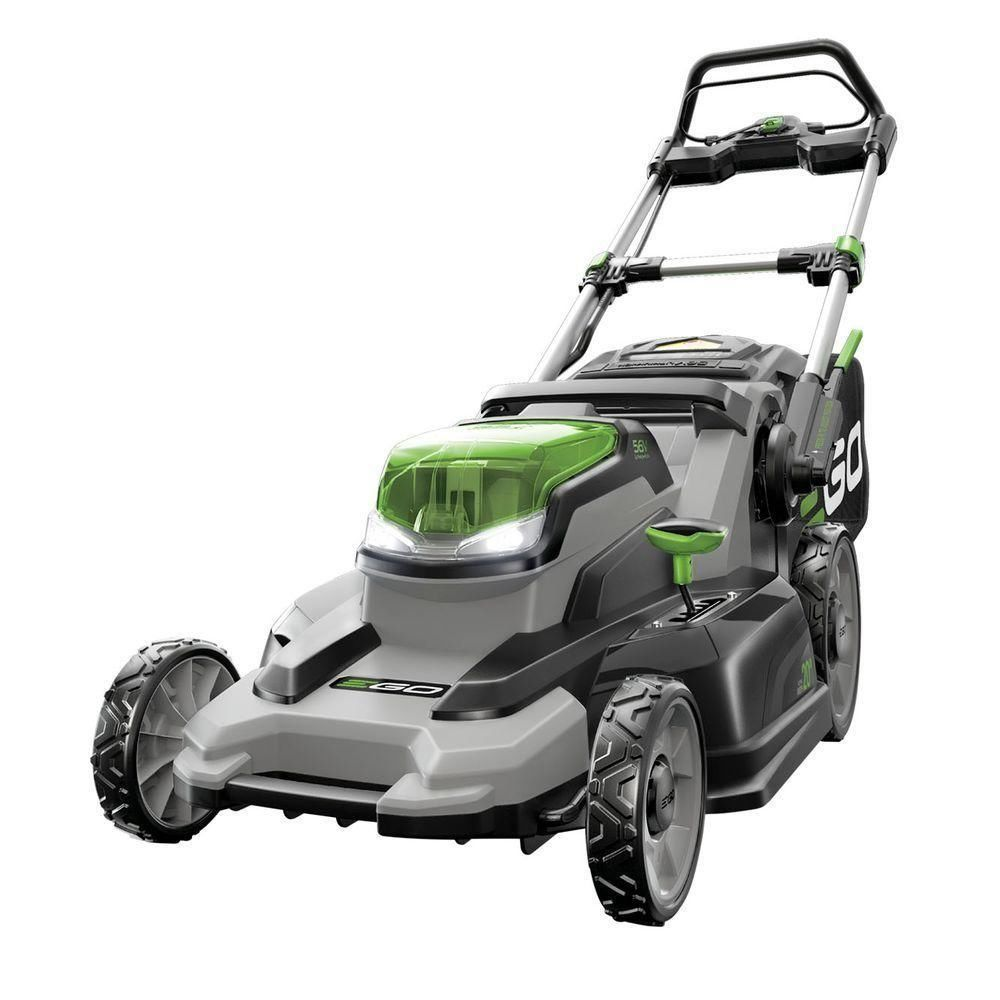 Ego 20 Inch 56 Volt Lithium Ion Cordless Lawn Mower 4 0