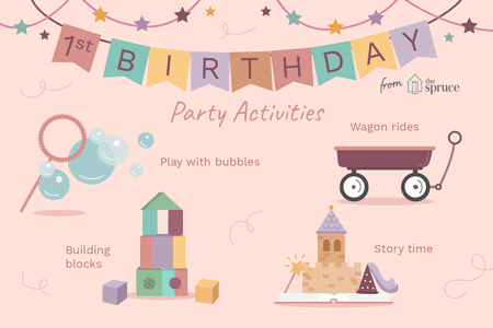 great games for first birthday party fun