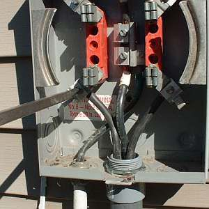 Electric Meter Load Connection