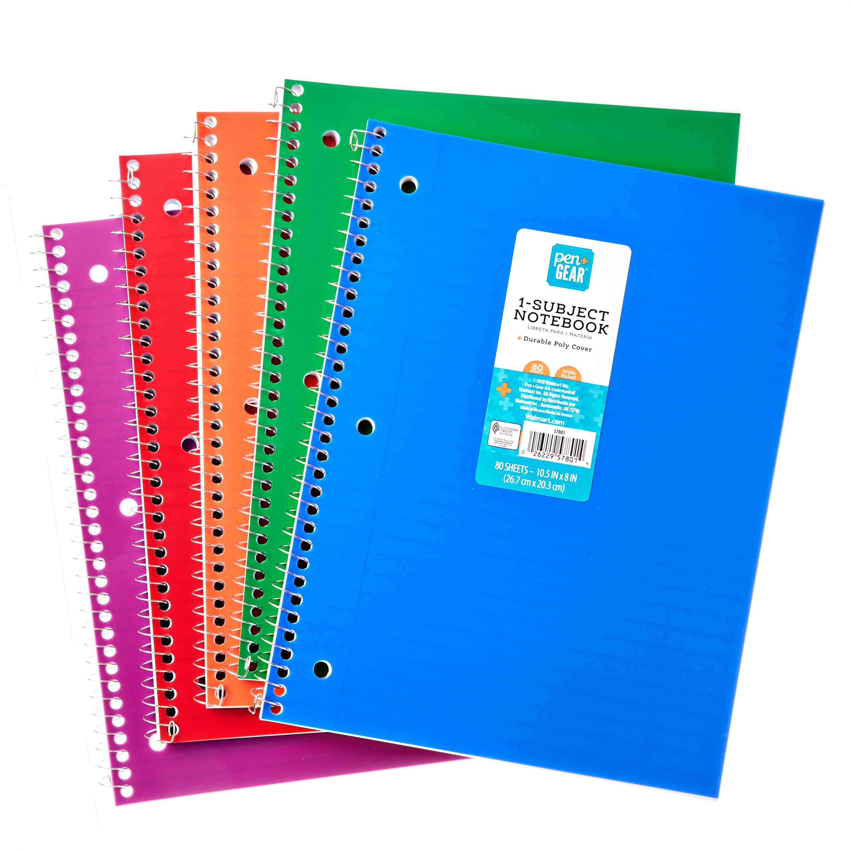Pen + Gear 1-Subject Notebook