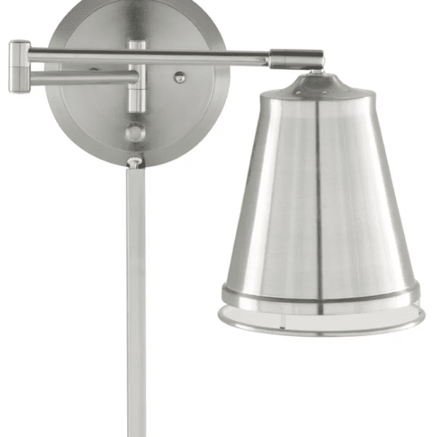 Zara 1-Light Swing Arm Lamp