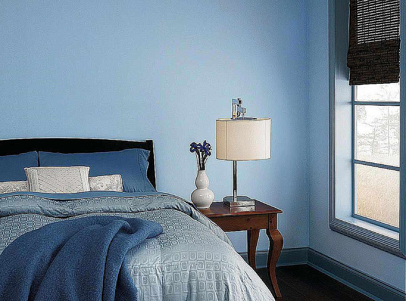 The 10 best blue paint colors for the bedroom - Blue bedroom paint ideas ...