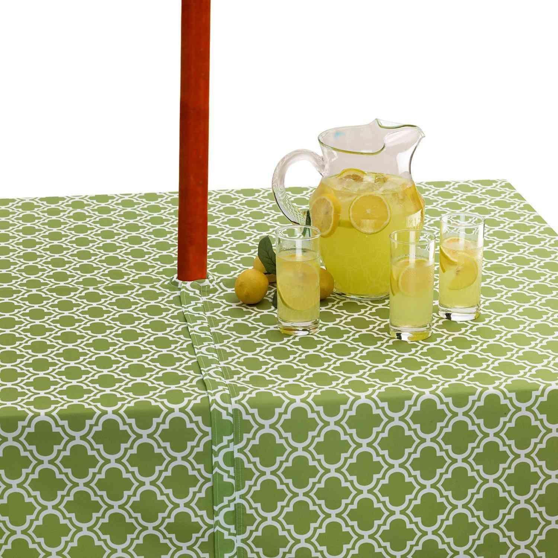 zipper outdoor tablecloth