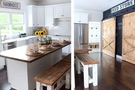 Gorgeous Modern Farmhouse Kitchens Simple Farmhouse Kitchen Ideas