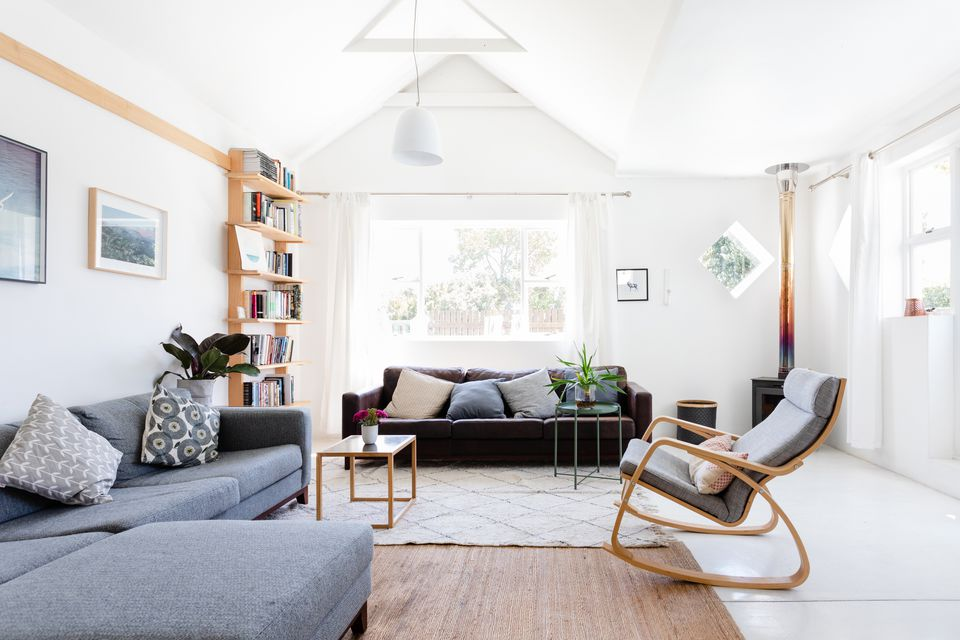 well-arranged living room furniture