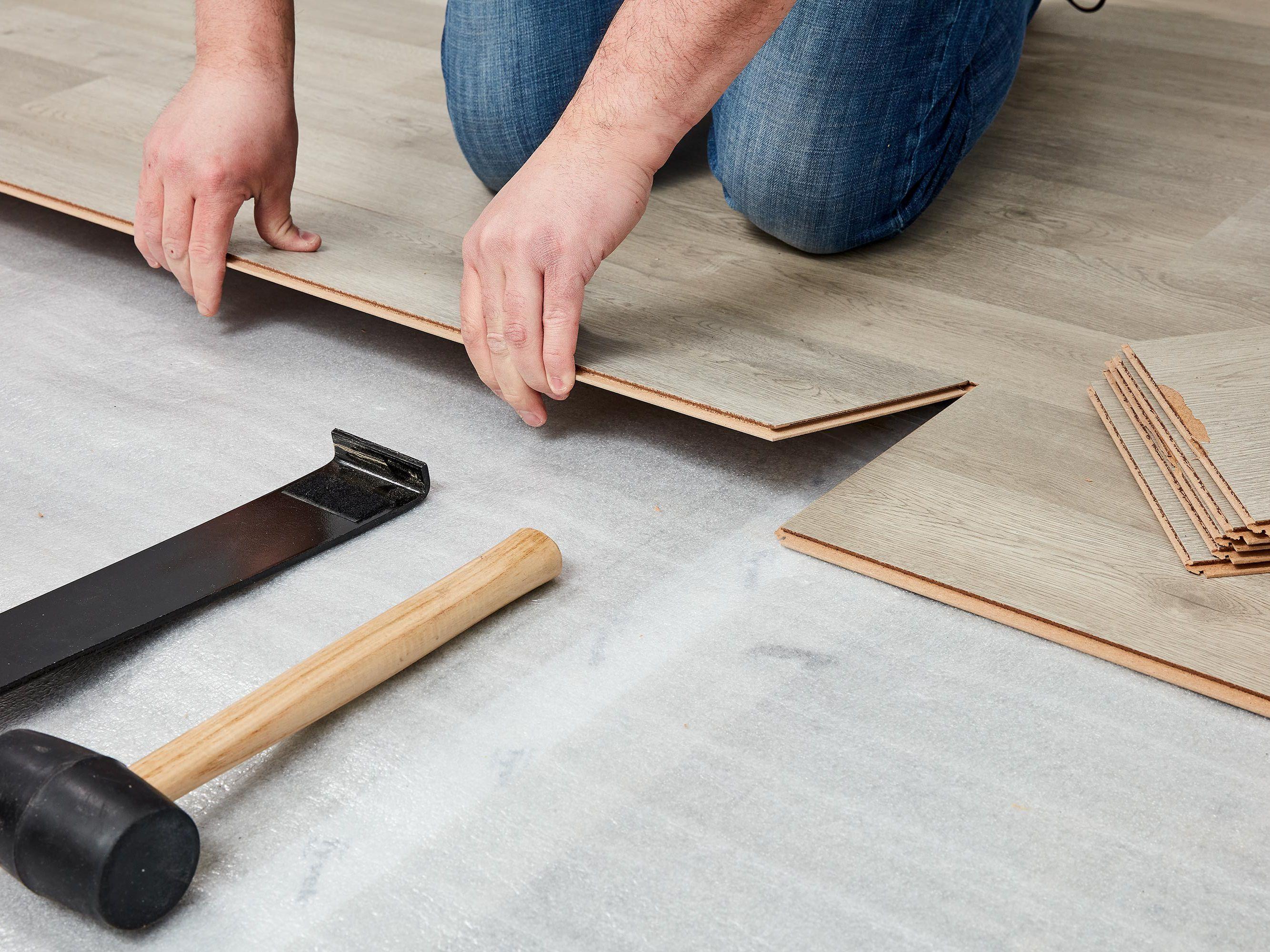 Laminate Underlayment Installation Basics, Is It Necessary To Use Underlay For Laminate Flooring