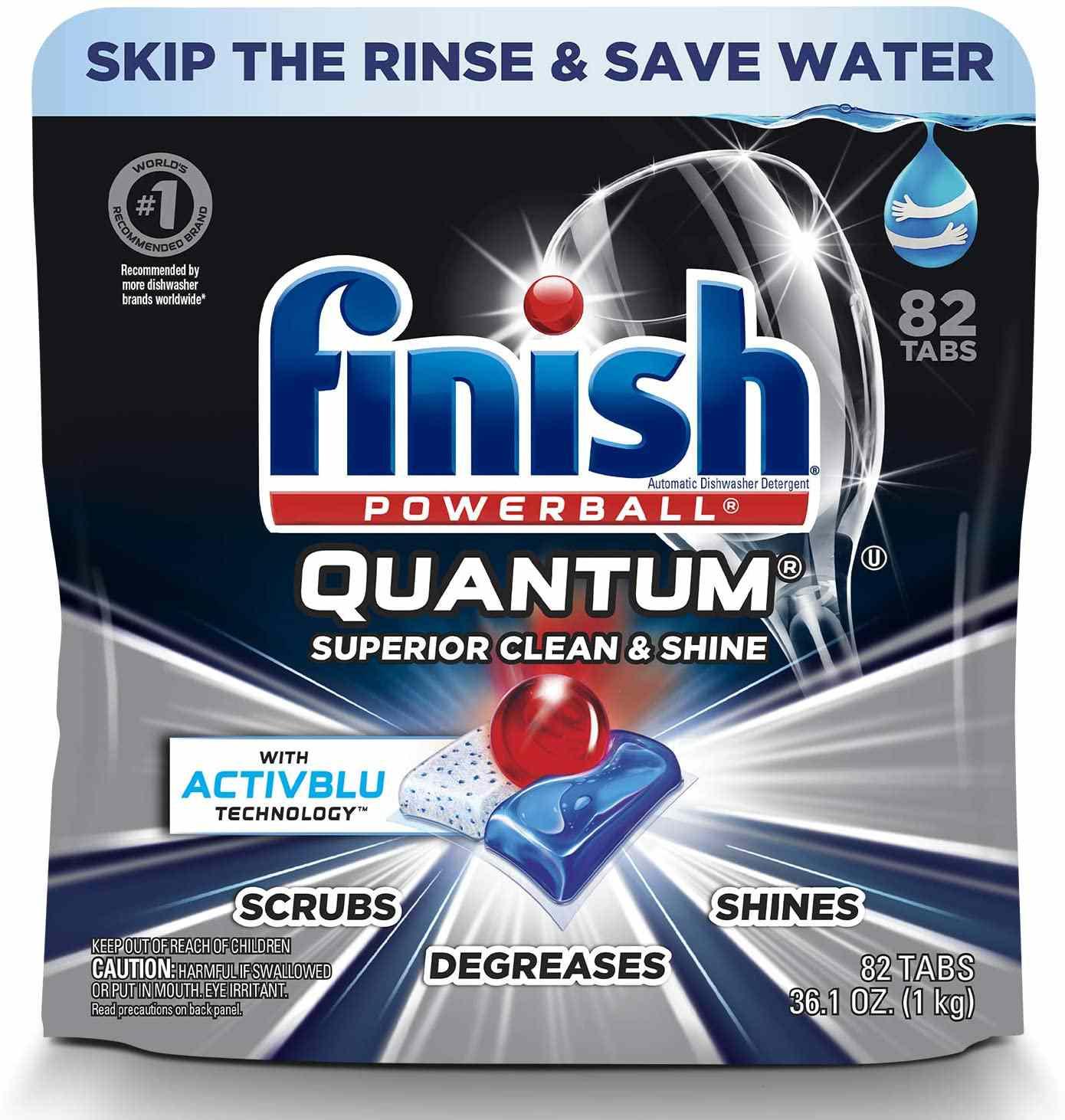 Powerball Quantum Dishwasher Detergent Tabs